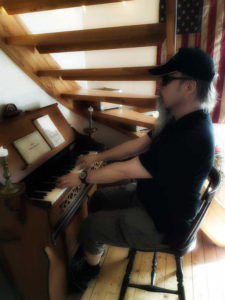 Kim trubadur orgel